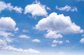 蓝天白云 蓝天 白云 天空 云朵 云彩