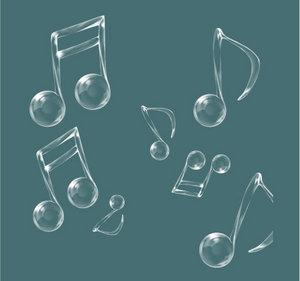梦幻音符 音符 音乐 音乐符号