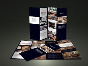 画册手册折页psd设计模板下载