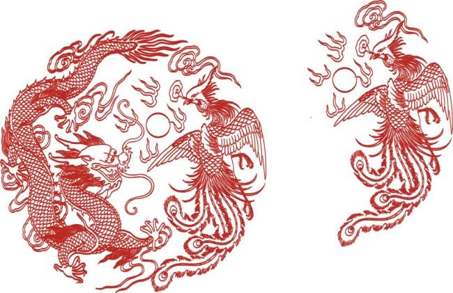 龙凤呈祥图片