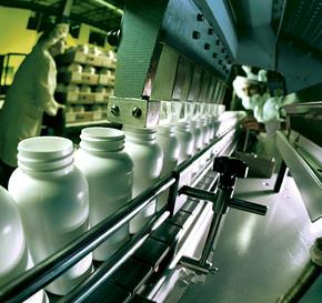 药品生产线