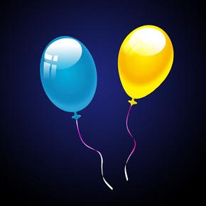 卡通气球 气球制作PSD分层模板