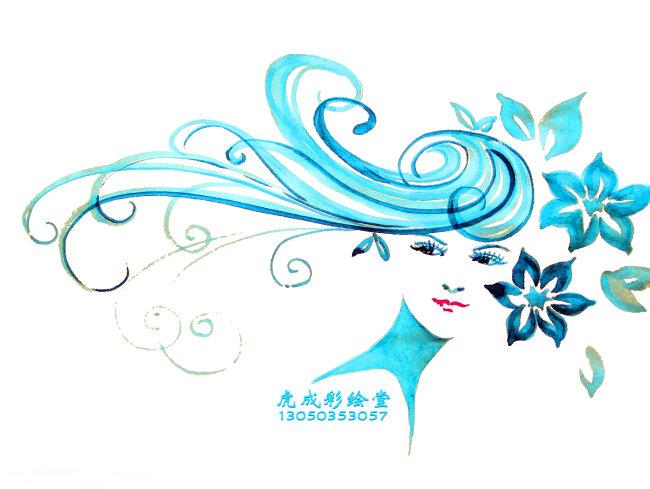 手绘 人物 创意 时尚 艺术