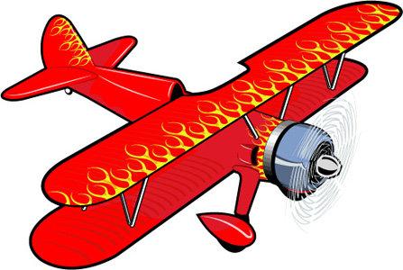矢量卡通飞机矢量图免费下载_格式:eps(图片编号:)-千