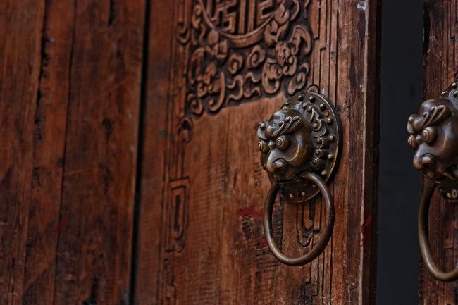 木门 老式门 中式花纹 中式木门 中式风格