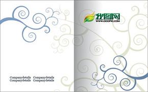 画册封面封面背景设计