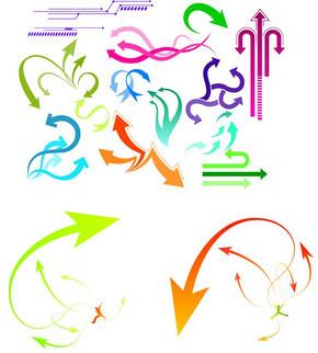 形式各异的箭头