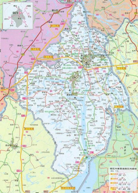 超详细的上海地图
