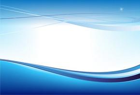 科技行业蓝色背景画册
