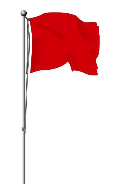 旗帜 红旗 彩旗 红旗飘飘图片