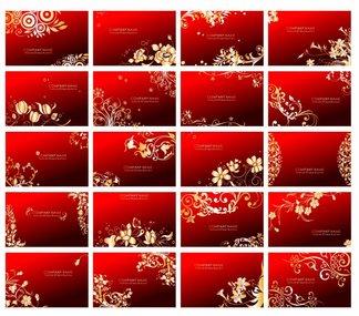 <i>红</i><i>色</i><i>名</i><i>片</i><i>背</i><i>景</i>集合