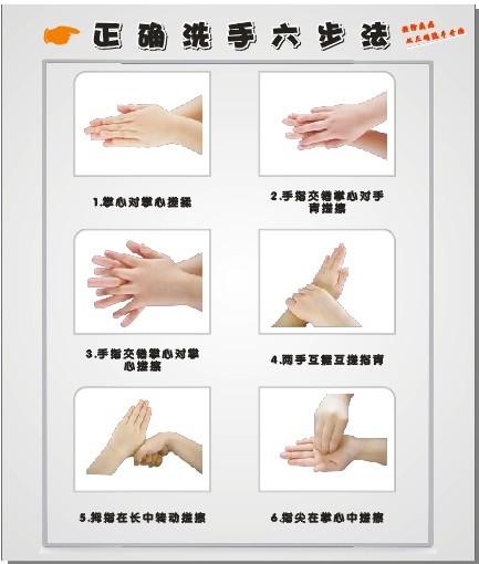 洗手步骤 正确洗手