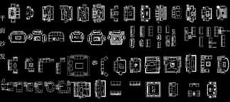 AutoCAD沙发图<i>库</i><i>下</i><i>载</i>