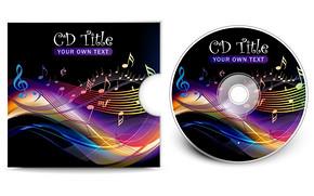 炫彩高档光盘和封面设计