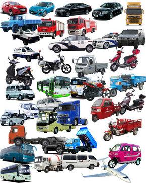 各种交通工具分层