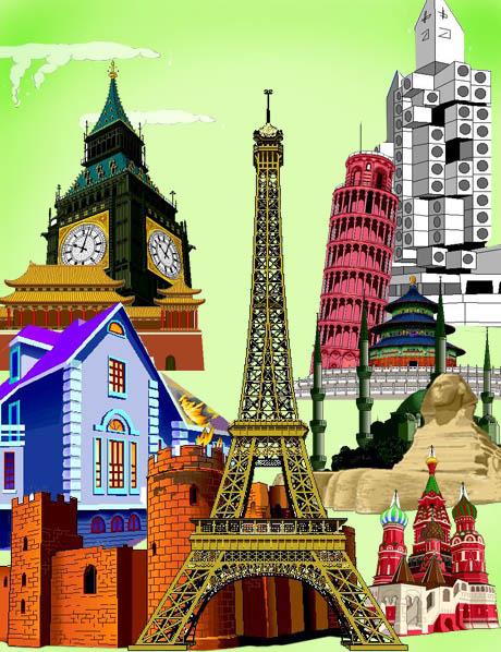 各国著名建筑素材