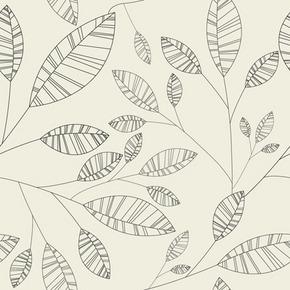 矢量植物树叶花纹背景