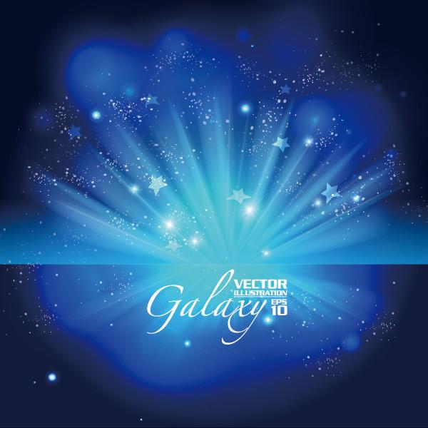 蓝色星光_蓝色星光矢量图模板免费下载_eps格式_编号10706821-千图网