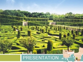 园林景观PPT模板