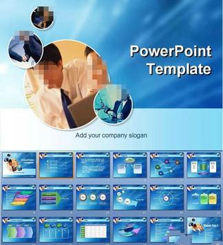 商业图表PPT模板