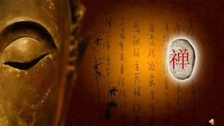 佛像寺庙背景<i>PPT</i><i>模</i><i>板</i><i>下</i><i>载</i>