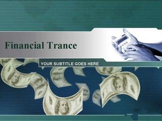 金融免费商务ppt模板