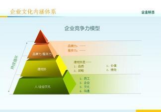 企业文化图表商务PPT模板
