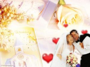 婚礼PPT模板甜蜜爱情