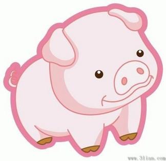 可爱卡通小猪图片_【可爱卡通猪】图片免费下载_可爱卡通猪素材_可爱卡通猪模板 ...