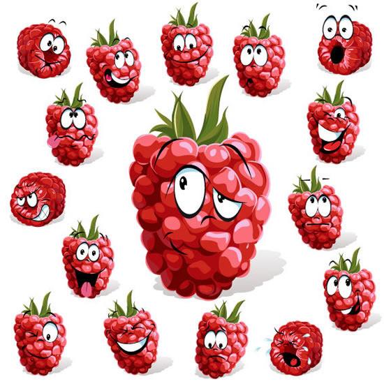 卡通水果表情是由产品实物设计师lg