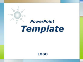 商务系列模板淡彩简约商务PPT模板