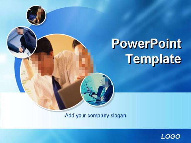 展示与合作商务PPT模板
