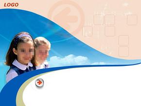 小学教育工作报告PPT模板