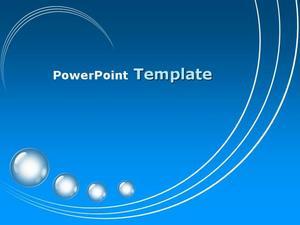 蓝色庄重的毕业设计ppt模板免费下载