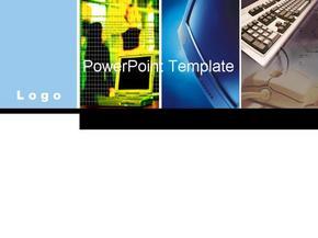 简单大方的电子信息类毕业答辩ppt模板