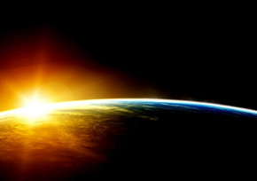 地球动态图表PPT模板