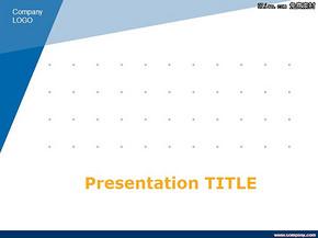 蓝色商务合作PPT模板