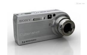 3D索尼数码相机模型