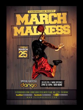 创意篮球比赛篮球俱乐部海报设计
