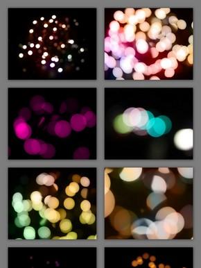 科技光效镜头光线光晕光斑素材集合
