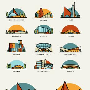 世界標志性建筑圖片