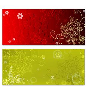 歐式花紋 現金券圖片