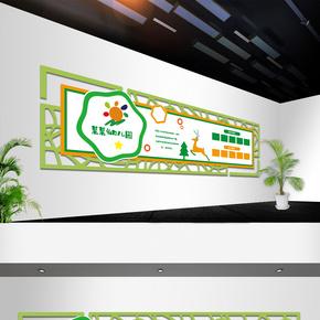 幼儿园卡通文化墙设计