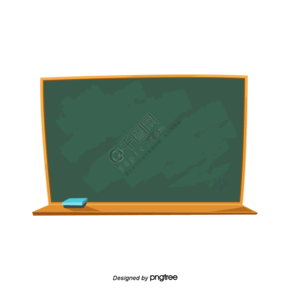 卡通教育黑板