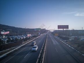 大气城市公路炫酷背景