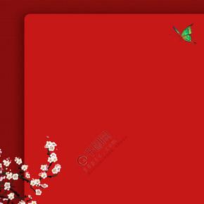 中国风信纸设计模板