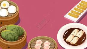 中华美食广式早茶