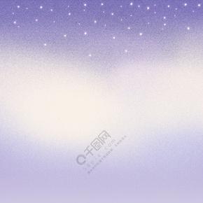 简约紫色渐变海报背景