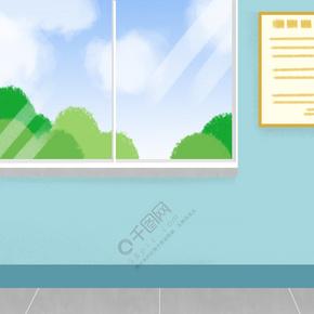 卡通透明的玻璃免抠图
