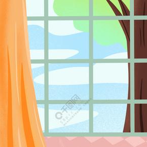 卡通彩色家具免抠图
